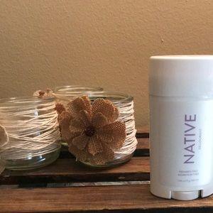BOGO NEW Native Deodorant Lilac and White Tea